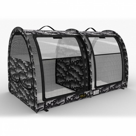 Sturdi LE Show Shelter Double Split Doors, M