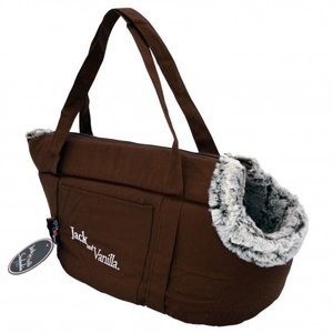Jack and Vanilla Snakeskin Pet Bag