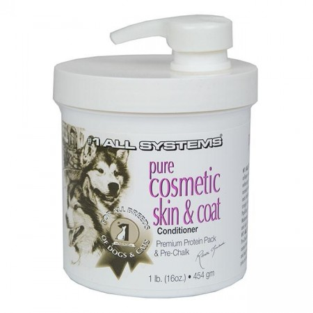 #1 All Systems Pure Cosmetic Skin & Coat Conditioner, 454 g