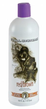 #1 All Systems Red / Brown Color Enhancing Botanical Conditioner, 473 ml