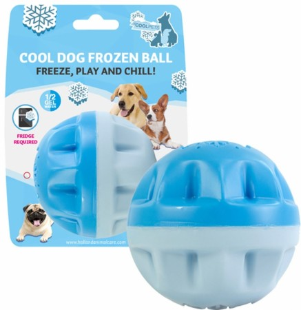 CoolPets Cool Dog Frozen Ball, Freeze, Play and Chill