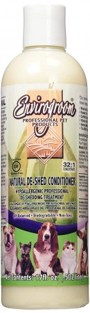 Envirogroom Natural De-Shed Conditioner, 502 ml