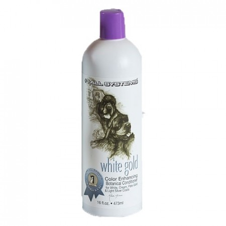#1 All Systems White Gold Color Enhancing Botanical Conditioner, 473 ml