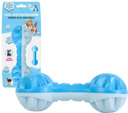 CoolPets Cool Dog Frozen Bone, Freeze, Play and Chill