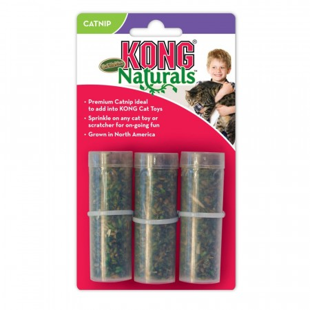 Kong Catnip Refillable Tube, 3 pk