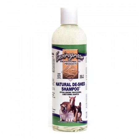 Envirogroom Natural De-Shed Shampoo, 502 ml