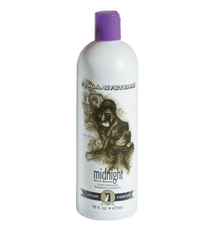 #1 All Systems Midnight, Blue Black Color Enhancing Botanical Conditioner, 473 ml